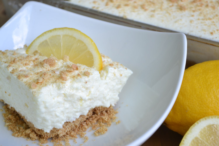 Light & Airy Lemon Fluff Dessert from Fluster Buster.