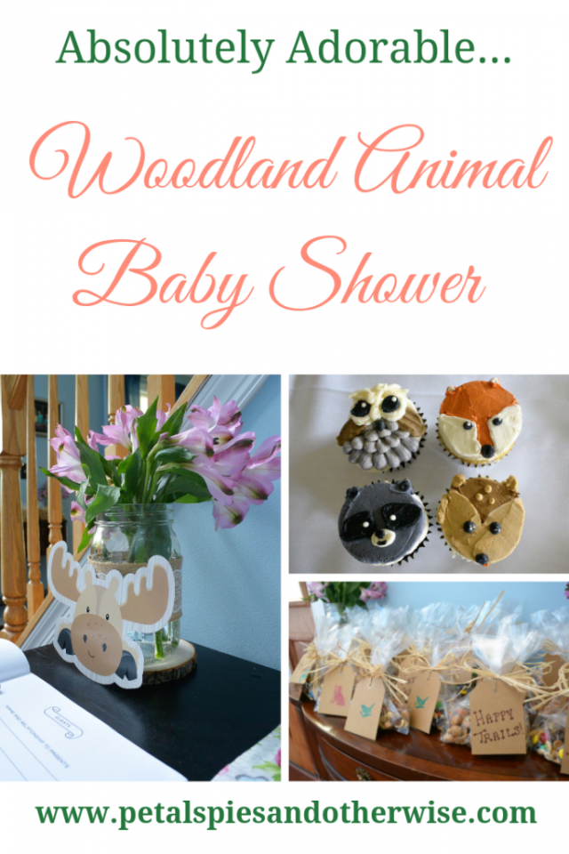 Woodland Animal Baby Shower from Petals, Pies & Otherwise.