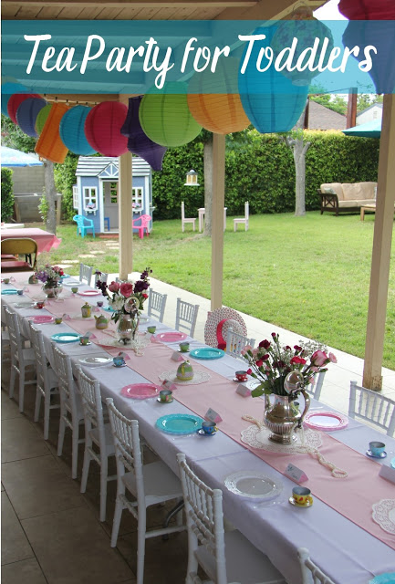 Tea Party for Toddlers from Clearwater Cottage.