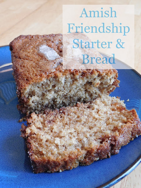 Amish Friendship Starter & Bread from Our Unschooling Journey Through Life.