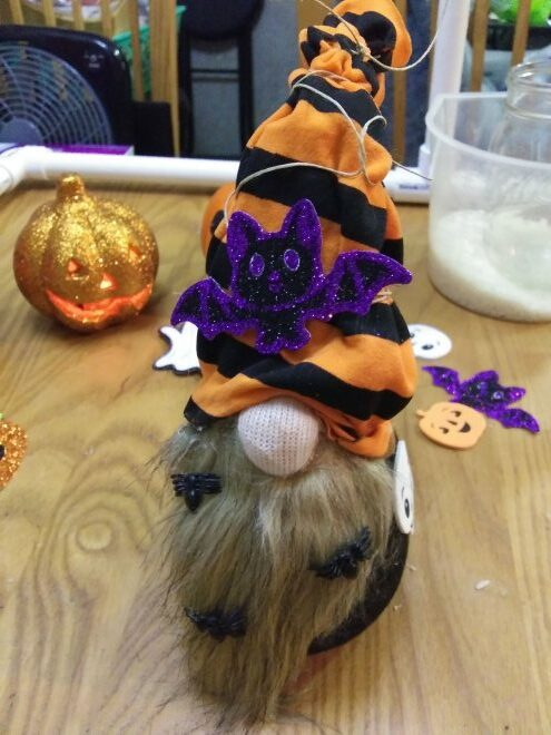 Halloween Sock Gnome Tutorial from Grace For A Gypsy.