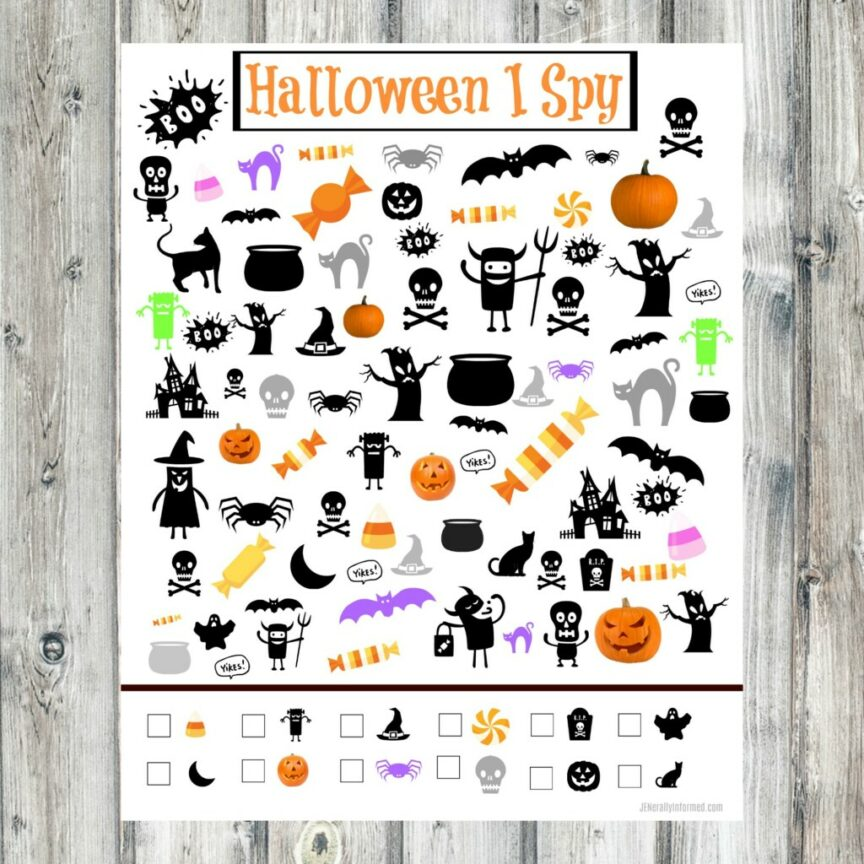 Just in time for #Halloween! Grab this super cute and totally free printable!