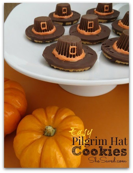 Easy Pilgrim Hat Recipe from All Because She saved.