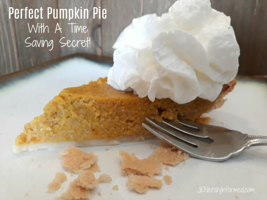 Who has time to make real pumpkin pies? Everyone does! Here's my time saving secrets for making perfect homemade pumpkin pies every time!