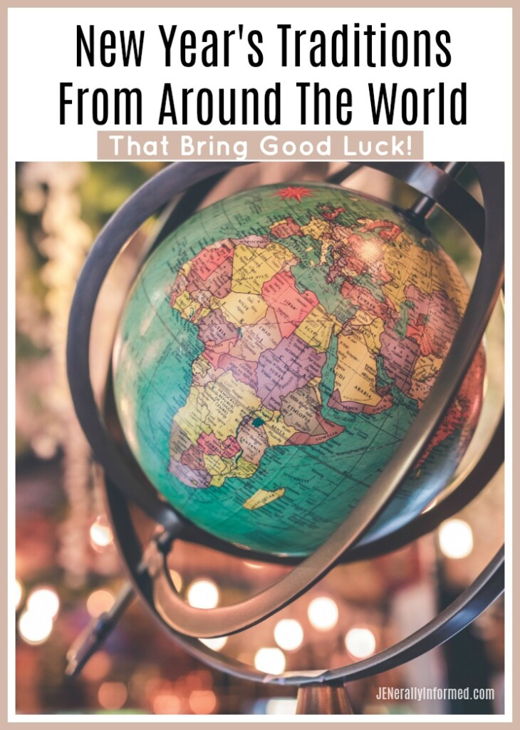 Try these easy and fun ideas from around the world to help make 2020 the best and most lucky year EVER!