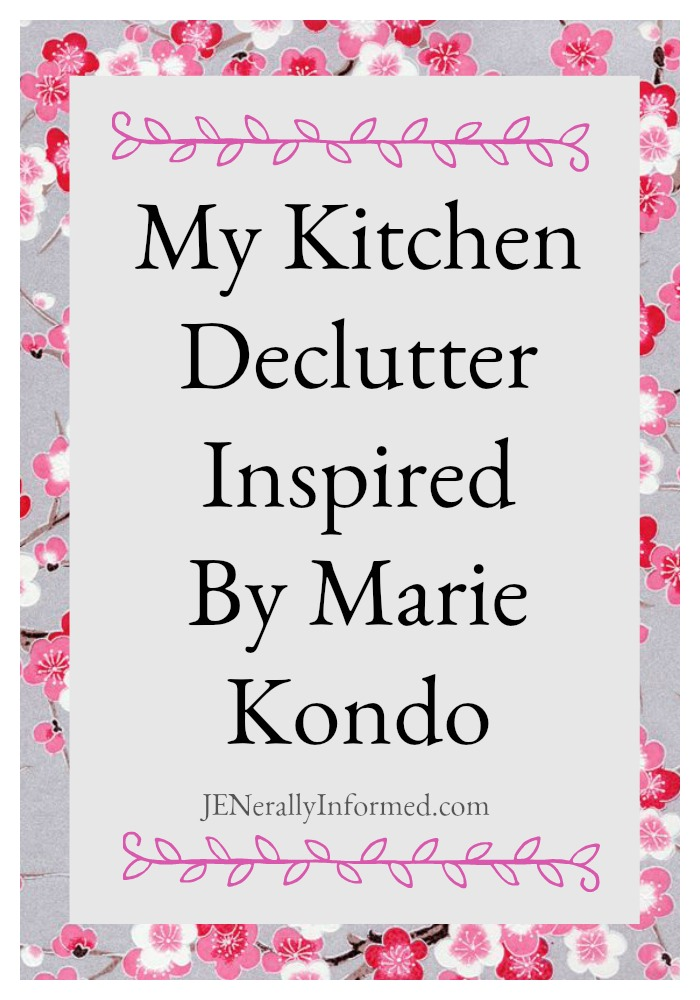 My Kitchen Declutter Inspired By MarieKondo! #sparkjoy