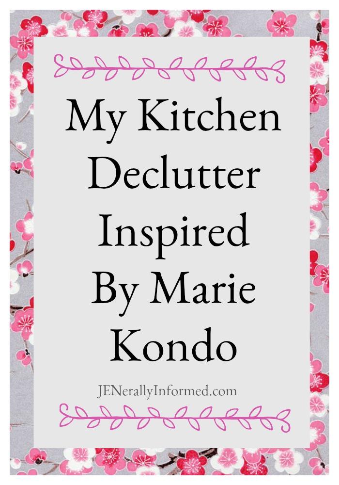 My Kitchen Declutter Inspired By MarieKondo! #sparkjoy