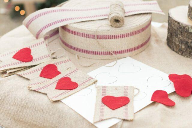 Valentine Bunting DIY from Kippi at Home.