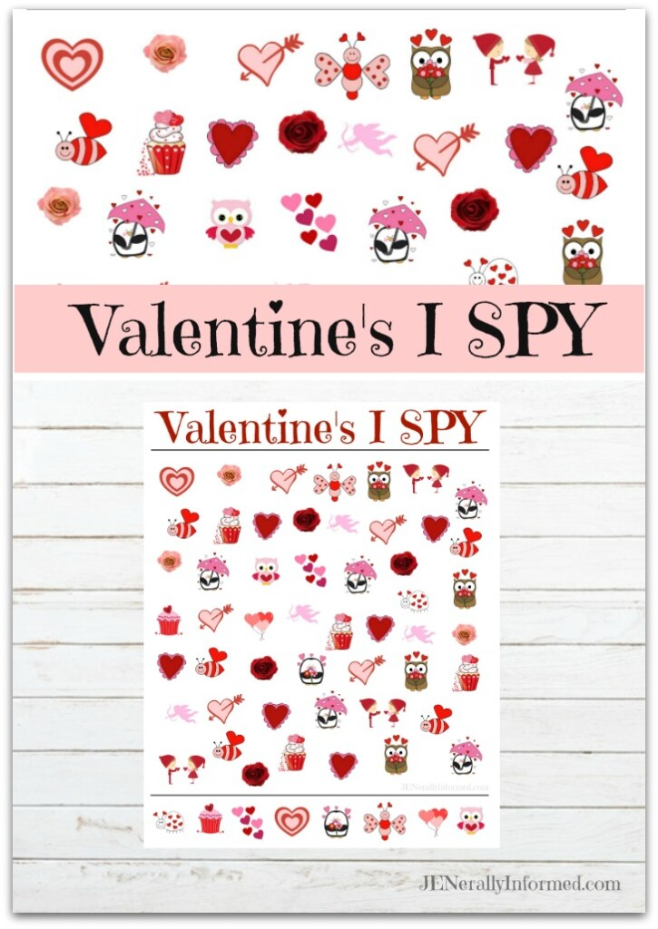 A new JENerally Informed printable just in time for Valentine's Day! Grab your pencil and someone you love to share the fun with!