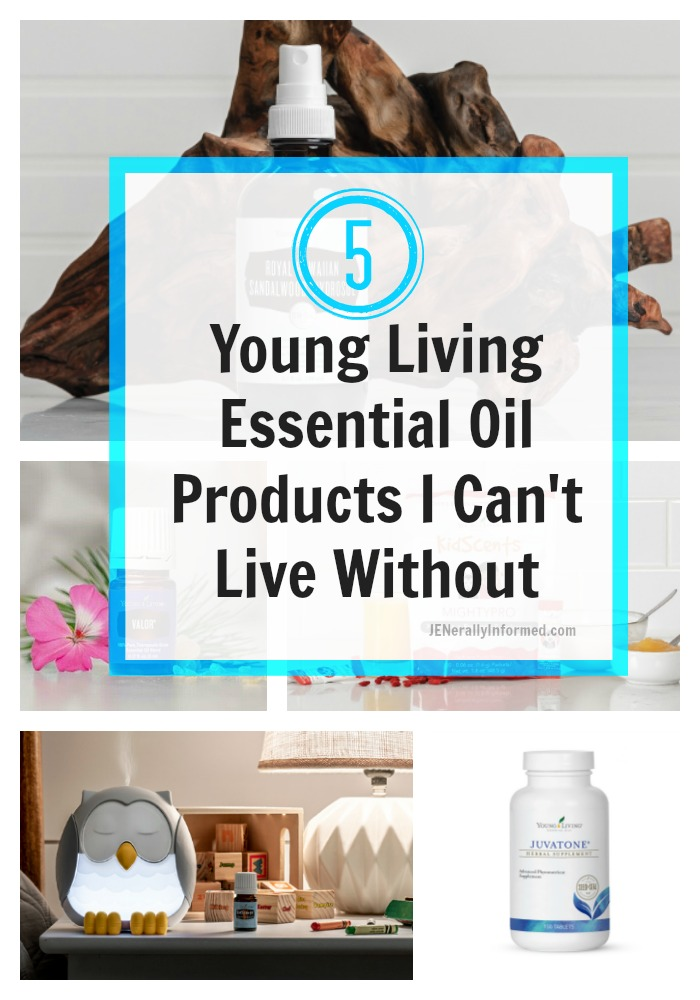 Here are 5 Young Living Essential Oil Products that I can't live without!