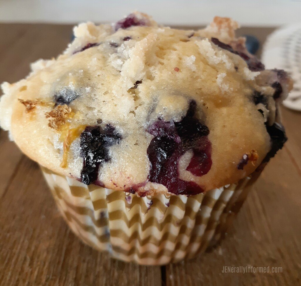 Bursting with fresh lemon and blueberry goodness, these muffins are a great addition to any day!