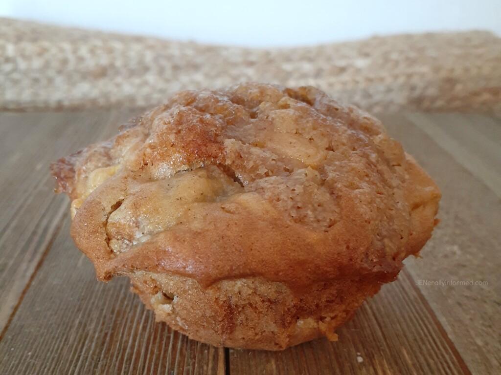 Peach Strudel Muffins