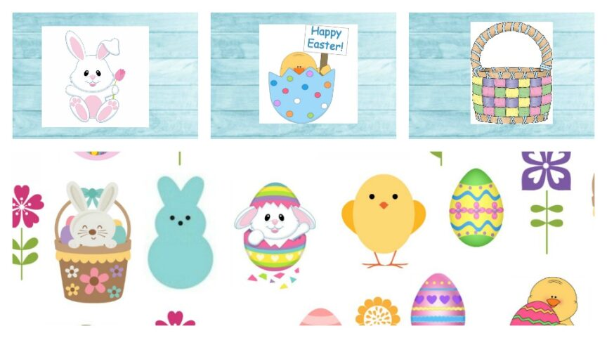 Looking for something fun to do with the kids this Easter? Grab this Free Easter printable look & find for your at-home celebrations!!