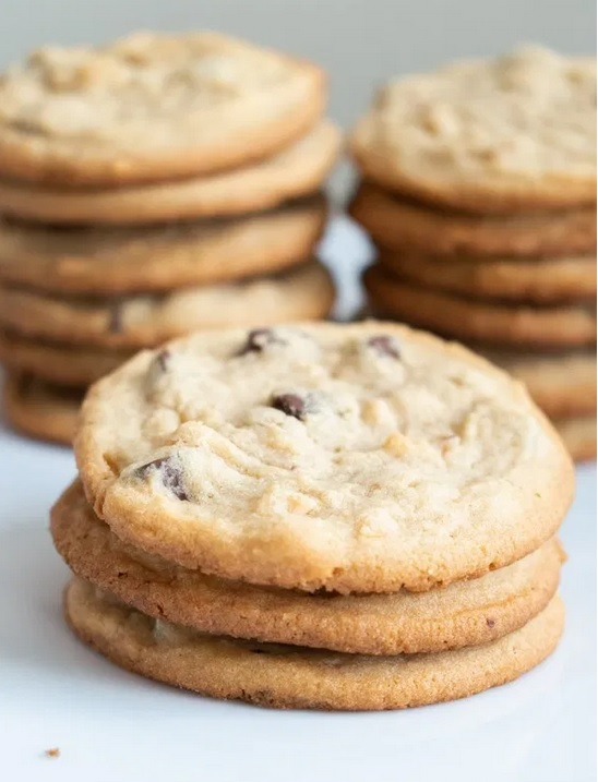 Butter Chocolate Chip Cookies from Petals, Pies and Otherwise.