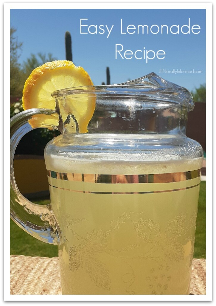 Learn how to make lemonade like your mom used to make! In less than 10 minutes and with only 3 simple ingredients, you can become a lemonade making pro!