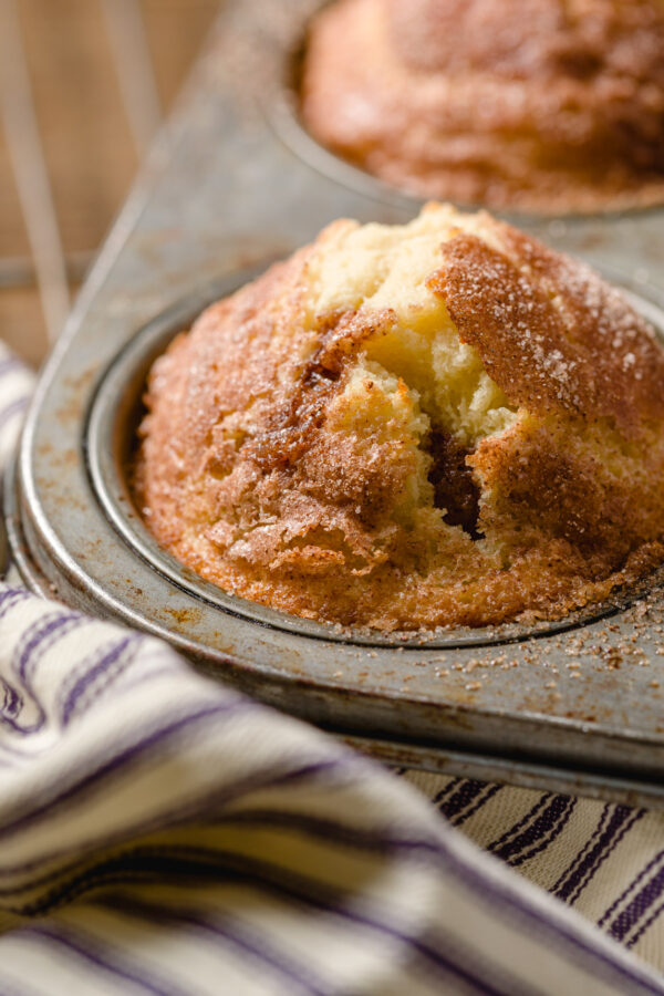 Cinnamon Muffins from Kippi at Home.