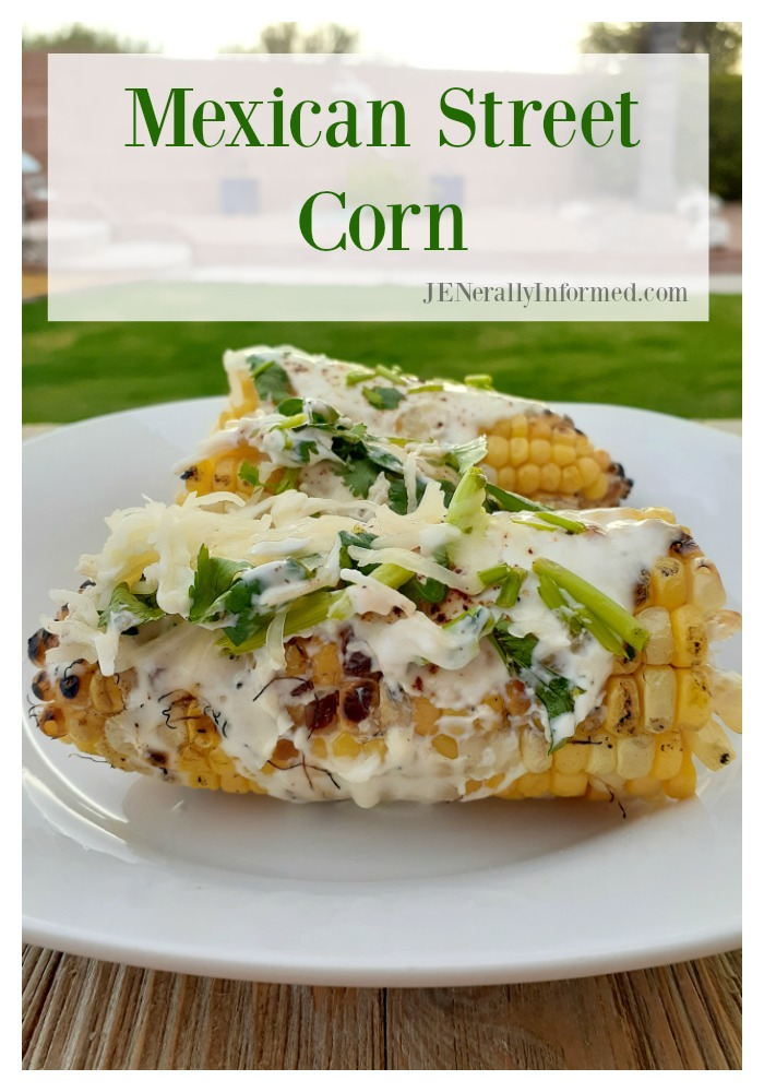 Here's how to make your own fire-roasted Grilled Mexican street corn at home! #grilling #summerrecipes