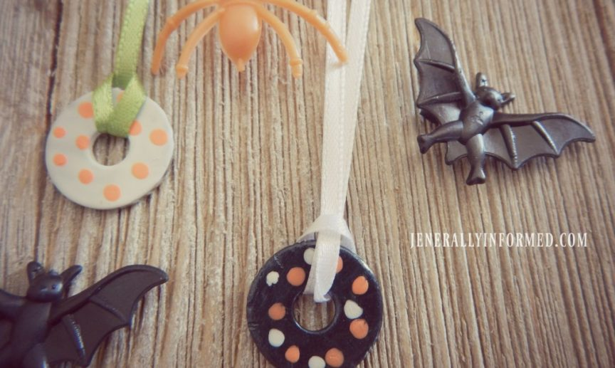 Halloween Washer Necklaces