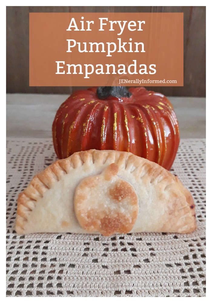 Here's how to make easy and delicious pumpkin empanadas using your air fryer. You only need 2 ingredients and 15 minutes!