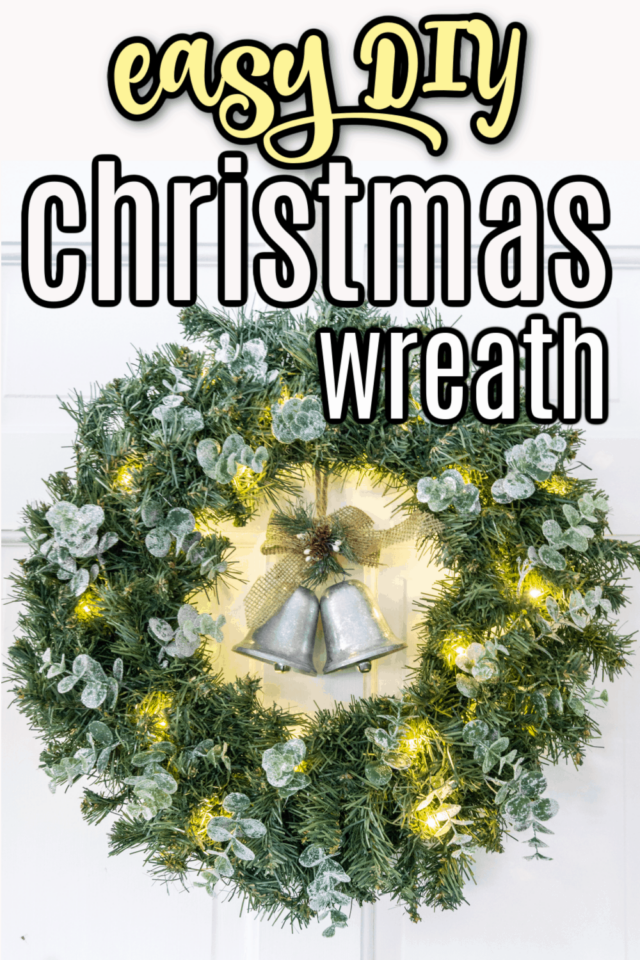 How to Make a Cheap Christmas Wreath from Health, Home, & Heart.