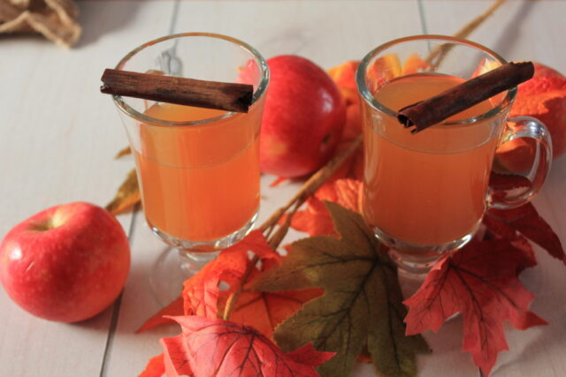 Hot Stove Top Mulled Cider from A Sprinkle Of Joy.