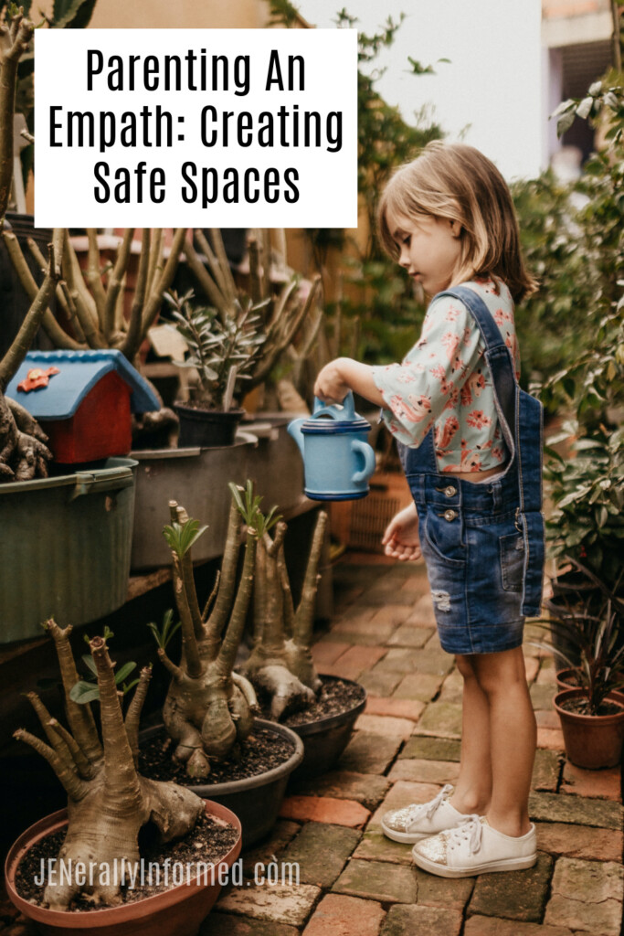 Parenting An Empath. Here's How To Help Your Young Empath Create Safe Spaces #empath #parentingempaths #parenting