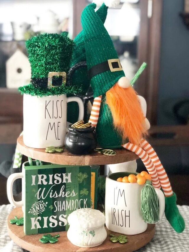 The 10 Rae Dunn St. Patrick's Day Inspired Farmhouse Must-Have Etsy Items from This Mom's Confessions.