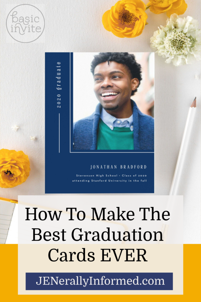 It's time to celebrate! Here's how to make the best graduation cards and announcements EVER! #graduation #cards @basicinvite