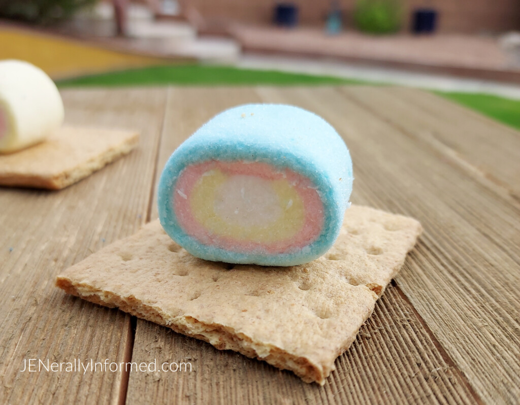 It's rainbow desert time! The unicorn lover in your life needs these delicious and super easy-to-make unicorn s'mores!